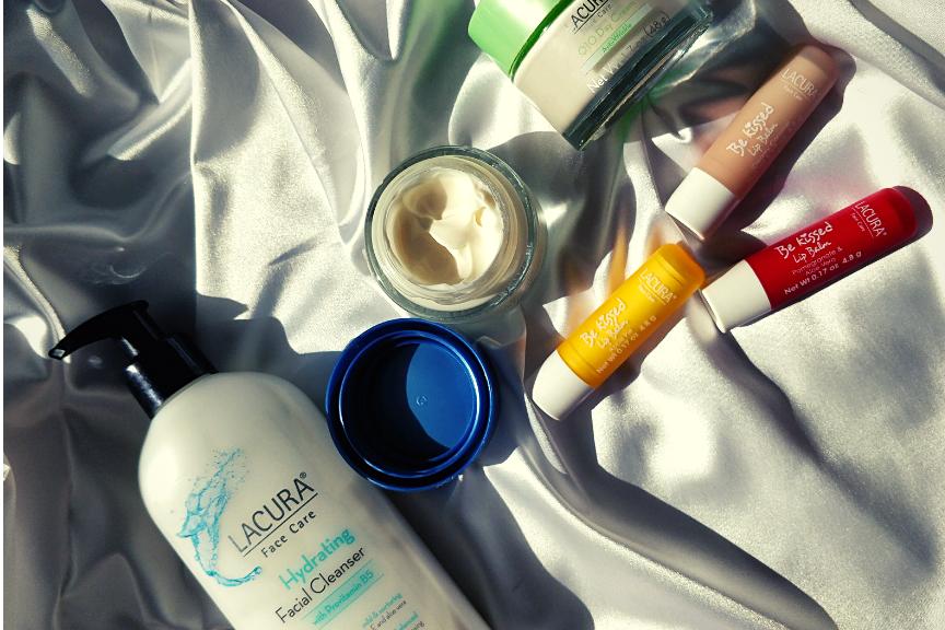 Aldi Lacura Face Care Products