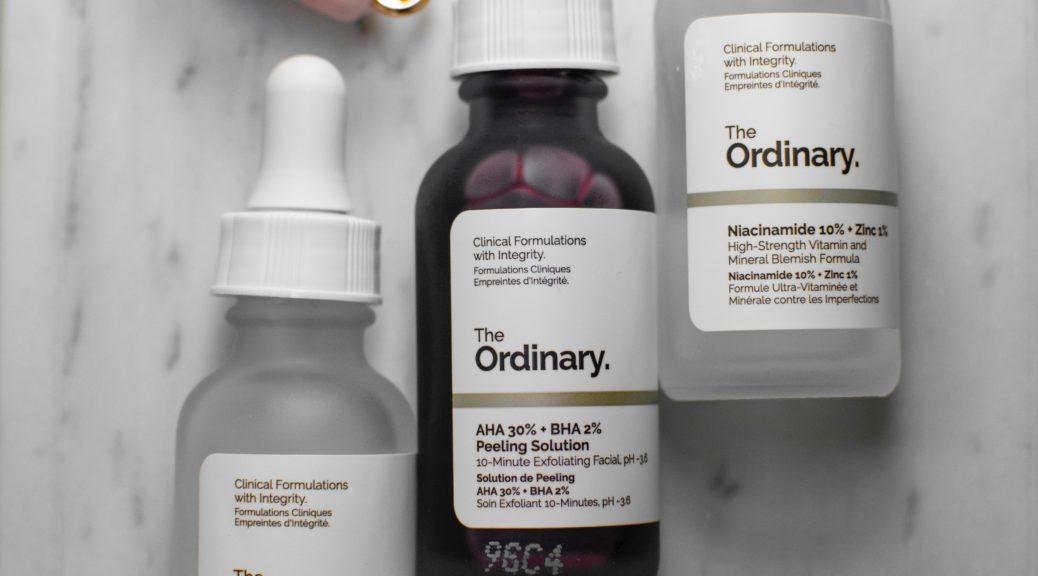 The Ordinary skincare line