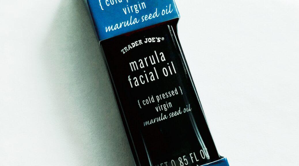 Trader Joe's Marula Facial Oil