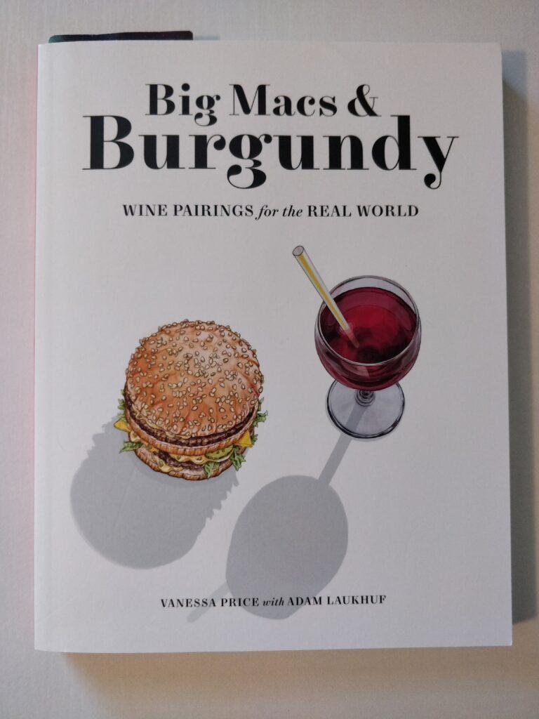 best wine book for beginners; Big Macs & Burgundy