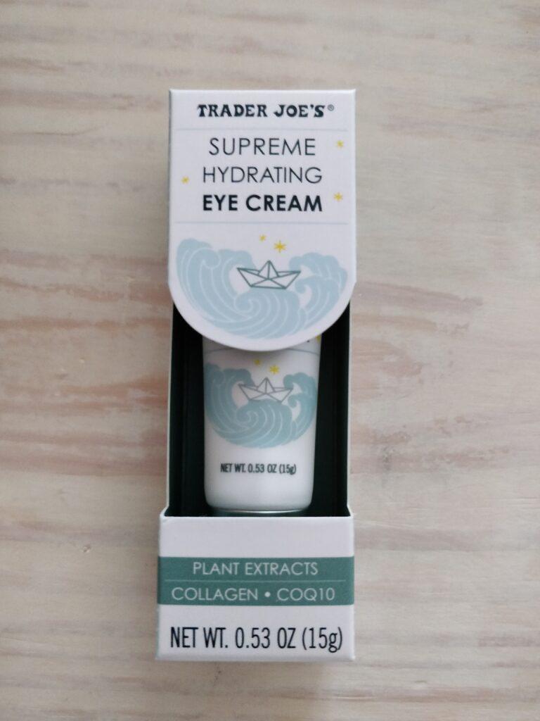 trader joe's supreme hydrating eye cream